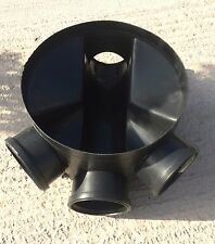 110mm MANHOLE INSPECTION SHALLOW ACCESS CHAMBER BASE 320mm UG437
