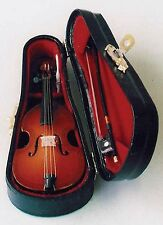 1/12TH SCALE DOLLS HOUSE CELLO WITH CASE