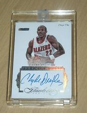 2015-16 2016 Panini FLAWLESS Clyde Drexler ONE of ONE autograph 1/1