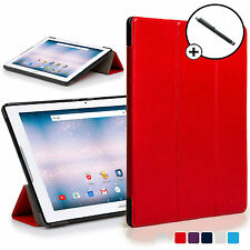 Forefront Custodie Rosso Origami Smart Cover Acer Iconia One 10 B3-A30 Stilo