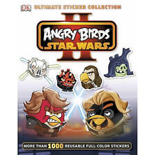 Angry Birds Star Wars II Ultimate Sticker Collection  - BRAND NEW RRP £7.99
