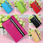 Stylish Womens Wallet Lady Clutch Bag Coin Purse Card Holder Leather Zipper