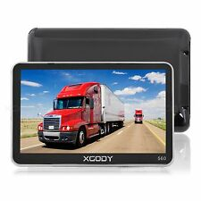 "XGODY 5"" TRUCK CAR Lorry Coach HGV LGV GPS SAT NAV NAVIGATION WORLD FREE MAP"