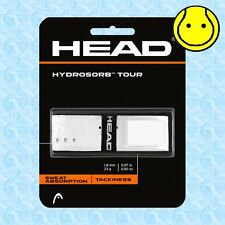 Head Hydrosorb Tour White - Absorbing Tacky Replacement Tennis Grip