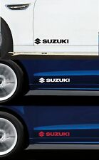FOR SUZUKI - 2 x DOOR - VINYL CAR DECAL STICKER ADHESIVE - SWIFT  300mm long