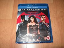 Batman V Superman Dawn of Justice Ultimate Edition Blu Ray - Brand New & Sealed