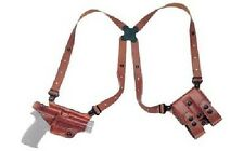 Galco Miami Classic Shoulder Holster Glock 17/19/22/26/27/33, Right, Tan  MC224