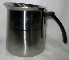 STARBUCKS COFFEE 20 OZ STAINLESS STEEL CREAMER STEAM MILK PITCHER