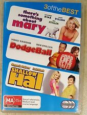 There's Something About Mary / DodgeBall / Shallow Hal (3 Discs) DVD (Region 4)