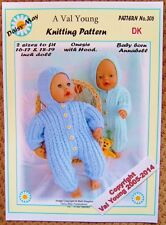 DOLLS KNITTING PATTERN no. 306 for BABYBORN.by Daisy-May.