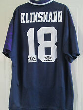 Tottenham 1994-1995 Klinsmann 18 Away Football Shirt Adult Extra Large /39377