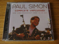 CD Double: Paul Simon : Complete Unplugged : Live New York 1992 : Sealed 2 CDs