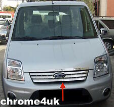 BRAND NEW FORD TRANSIT CONNECT FRONT GRILL STAINLESS STEEL CHROME 2009 TO 2013