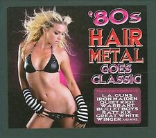 80s Hair Metal Goes Classic [Box] by Various Artists (CD, Aug-2009, 2 Discs, Cle
