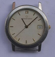 Vintage Eterna-Matic Auto Stainless Steel Watch. Ref:3400.41, For Repairs