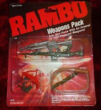 Vintage 1985 Coleco Rambo Weapons Pack