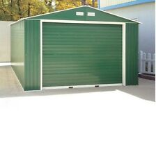 New 50961 Duramax Imperial Metal Garage 12x20 - Garage Shed NEW! Gray Anthracite