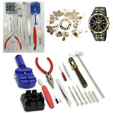 Watch Repair Professional 16 Pcs Tool Kit Watch Strap Back Open Pin Removing Kit