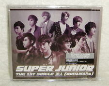 Super Junior Bonamana Taiwan Ltd CD+DVD+8P booklet+Card