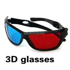 Red Blue 3D Glasses For Dimensional Anaglyph Movie Game DVD 3D Movie Game 1 Pair