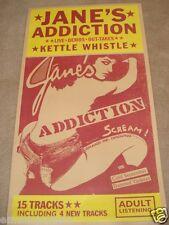 """JANE'S ADDICTION """"KETTLE WHISTLE"""" GIANT OVERSIZED POSTER - 90's ALTERNATIVE ROCK"""