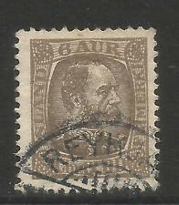 Iceland 1902-04 King Christian IX 6a gray brown (37) fine used