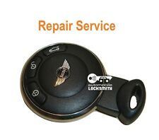 Repair service for Mini Cooper 3 button smart remote key fob