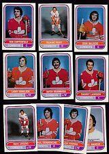 1975 O-PEE-CHEE WHA Team SET Lot of 10 Calgary COWBOYS NM- LAWSON HARRIS OPC