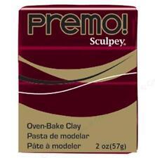 Premo! Sculpey Polymer Clay 2 oz - Alizarin Crimson  (#PE02 5382)