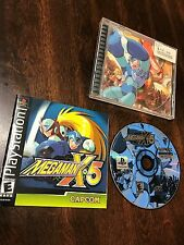 Mega Man X5 Megaman PS1 Video Game TESTED Playstation 1