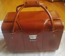 NIKON FB-11 LEATHER COMPARTMENT CASE / GREAT CONDITION