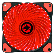 Game Max Mistral 32 x Red LED 120mm Fan PC 12cm Case Fan High Performance