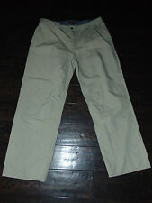 ROYAL ROBBINS Men's Khaki Tan Cotton/Nylon Hiking Travel PANTS Size 40/30