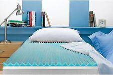 Queen Size 3 Inch Beautyrest Cooling Gel Memory Foam Topper Mattress