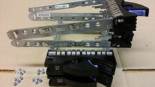 "Lot of 4x 42R4127 IBM Caddy for HDD SAS / Sata 3.5"" Hot Swap Tray + 4 Screws"