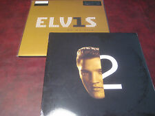 ELVIS PRESLEY HITS #1'S + SECOND TO NONE ORIGINAL RARE 03 RCA RELEASE LP SET