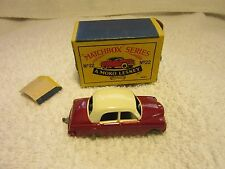 Matchbox Lesney No.22a Vauxhall E Series Cresta  Very Nice!