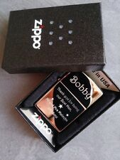 PERSONALISED ZIPPO (GENUINE) WEDDING / BEST MAN / FATHER OF THE BRIDE