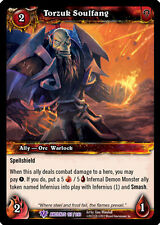 WOW WARCRAFT TCG WAR OF THE ANCIENTS : TORZUK SOULFANG X 3
