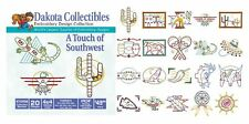 Dakota Collectibles Embroidery Machine Design CD - Touch Of Southwest 970456