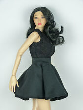 1/6 Phicen, Hot Toys, Kumik, Cy, ZC, TTL, NT Clothing - Female Black Party Dress