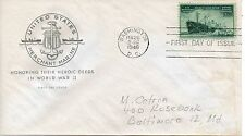 US FDC #939 Merchant Marine, House Of Farnam (5358)