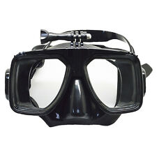 Diving Mask Scuba Snorkel Goggles Face Glasses Mount for GoPro Hero 3 3+ 4 New