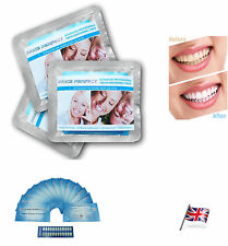 28 TEETH WHITENING STRIPS Best Professional Home Advanced White Bleaching Whiter