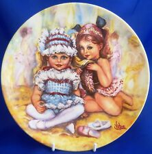 WEDGWOOD/QUEEN'S WARE MY MEMORIES COLLECTOR PLATE - THE RECITAL