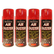 4 Pack Air Duster Gadget Cleaner Cleans Keyboards Laptops Phones Printers Fax