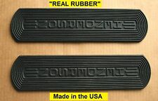 """Henderson Motorcycle 1915-1917 Footboard """"REAL Rubber"""" Mat Set - Antique Repro"""