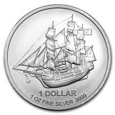 2016 1 oz Cook Islands Silver Bounty Coin (BU)