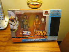 "STAR WARS ""TOYS R US"" EXCL. 2014 (STAR WARS REBELS: JEDI REVEAL 3-PACK)SALE!!!"