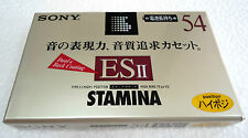 Sony C-54ES2A Stamina Type II SEALED Japan version Perfect & Good conditions